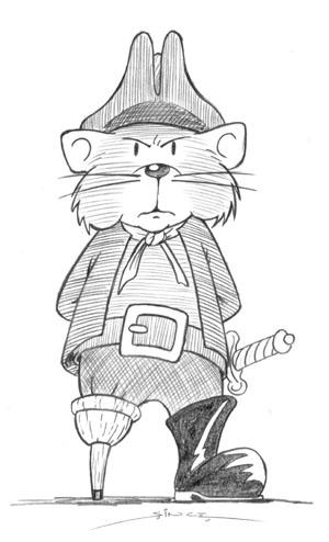 Pirate Hamster