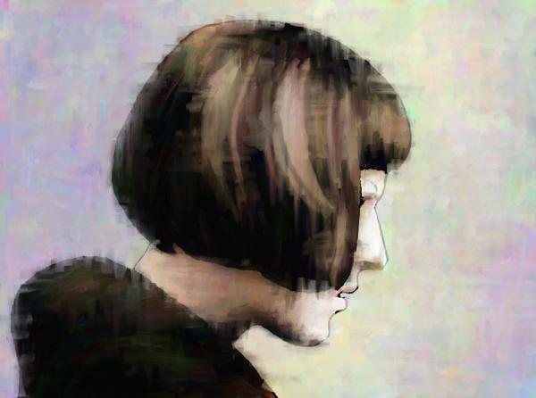 Woman in Profile 2