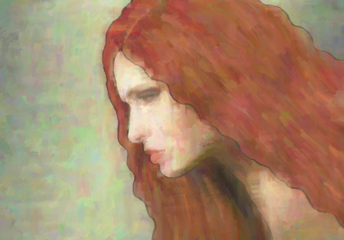 Woman in Profile 3