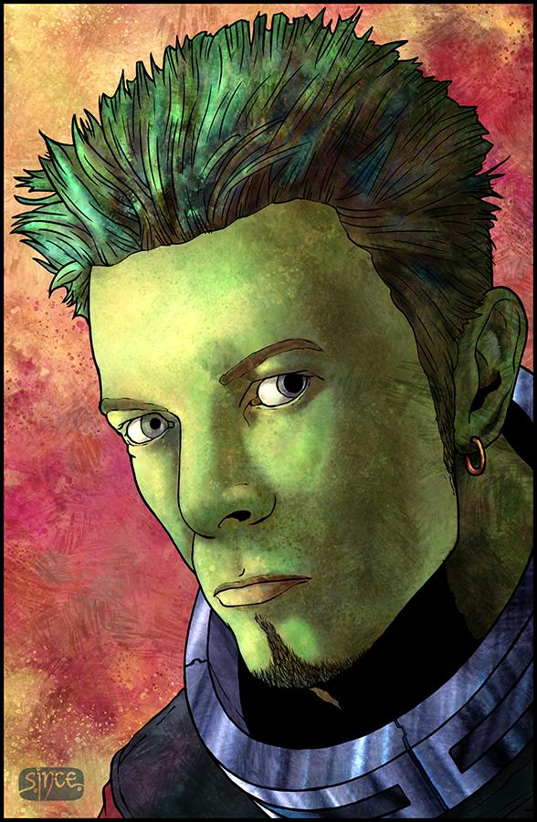 Alien Bowie 1s